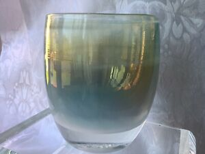 """**ENCHANTED**GLASSY*BABY*GLASS*CANDLE*HOLDER*VOTIVE*PERFECT*4*MOTHER""""S*DAY*GIFT*"""