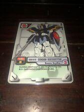 Gundam MS WAR TCG MS-003 deathscythe  Beam Scythe 2000 BANDAI TCG