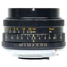 Leica 28mm f2.8 Elmarit-R Lens with Hood