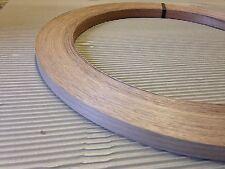 Walnut Unglued Wood Veneer Edging 1mm Thick x 22mm x 100m Edgebanding