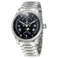 Longines Master Retrograde Seconds Automatic Black Dial Mens Watch L27394516