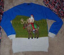 NEW BLIZZARD BAY Ugly XMAS Christmas Sweater Russia Vladimir Putin Men S Small
