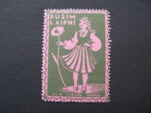 Latvia Cinderellas, Revenue, Advertising stamps, Lettland Propoganda, Tourism