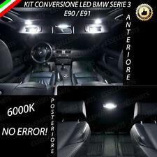 KIT FULL LED INTERNI BMW SERIE 3 E91 TOURING ANTERIORE + POSTERIORE 6000K CANBUS