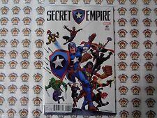 Secret Empire (2017) Marvel - #0, 1:20 Frenz Variant CVR, Spencer/Acuña, NM
