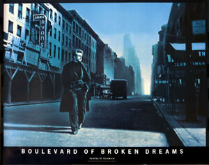 Helnwein James Dean Boulevard of Broken Dreams 1991 Poster 33 x 42