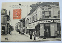 CPA LES MUREAUX Rue Aristide Briand Yvelines Old Postcard Carte Postale 1930