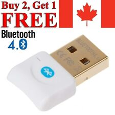 Bluetooth CSR 4.0 Dongle Adapter USB Bluetooth Receiver for Desktop Laptop