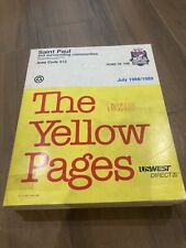 1988 St. Paul Yellow Pages Telephone Directory