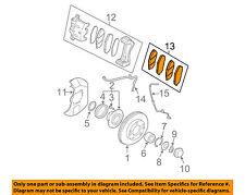 KIA OEM 07-09 Sorento Brake-Front Pads 581013EU04