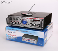AMPLIFICATORE KINTER DIGITALE HI-FI KARAOKE USB SD FM AC220V-240V DC 12V KARAOKE