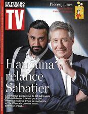 TV MAGAZINE 13/01/2019  Cyril Hanouna & Patrick Sabatier/ Deschamps/ Foucault