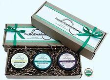 Body Balms (USDA Organic) Lemongrass, Rosemary Mint, Lavender - Moisturizing