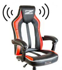 PC Stuhl mit eingebautem Soundsystem und Bluetooth von BraZen
