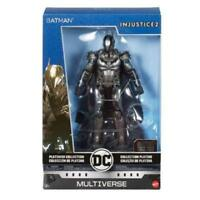 New DC Multiverse Injustice 2 Batman Platinum Collection Metal Figure