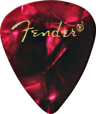 Fender 351 Premium Celluloid Guitar Picks - Red Moto, Thin 144-Pack (1 Gross)