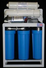 Light Commercial Reverse Osmosis Water Filter System 300 Gpd Pump With Dual Di