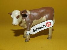 06) Schleich Schleichtier Kuh Rind Kalb braun weiß 13132 top