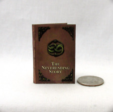 THE NEVERENDING STORY 1:6 Scale Readable Illustrated Dollhouse Miniature Book