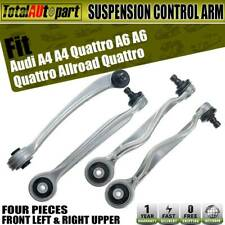 4pcs Front Upper Control Arms Kit for Audi A4 A6 S4 Volkswagen Passat 8E0407505A