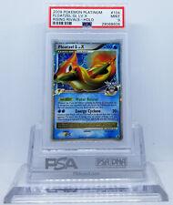Pokemon PLATINUM RISING RIVALS FLOATZEL G LV X #104 HOLO FOIL PSA 9 MINT #*