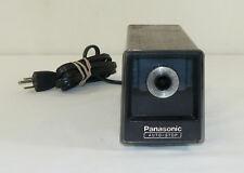 Vintage Panasonic Auto-Stop Desktop Electric Pencil Sharpener KP-77A Japan