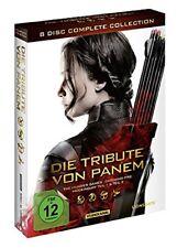 Die Tribute von Panem Box -Komplettbox Complete Collection NEU 8 DVDs Alle Teile