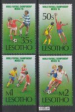 XG-AK584 LESOTHO - Football, 1986 Mexico World Cup MNH Set