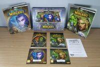 World Of Warcraft Battle Chest Burning Crusade Box Set PC Game WOW