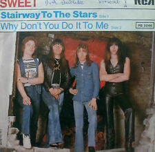"7"" 1977 GLAM MINT- ! THE SWEET : Stairway To The Stars"