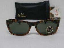 New Vintage B&L Ray Ban Wayfarer Set Bohemian Dark Tortoise W1414 Sunglasses USA