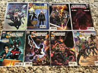 Champions (2019 3rd Series) 7 Issue Lot + Bonus Marvel Comics Miles Morales