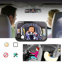 Baby Car Seat Rear View Mirror Facing Back Infant Kid Child Toddler Hot Sale