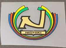 Nishiki Head Badge Decal (sku Nish707)