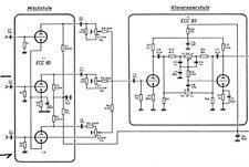 große Schaltplansammlung - Schaltpläne von Röhrenradios und mehr auf einer CD *