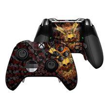 Xbox One Elite Controller Skin Kit - Radiant Skull by Sanctus - DecalGirl Decal