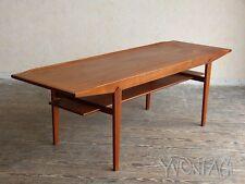 Stylischer Teak Coffee Table Wohnzimmertisch Tisch 50er 60er 50s 60s