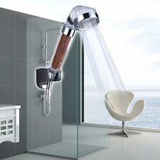 Handheld High Pressure Shower Head Bathroom Powerful Energy Water Saving Filter