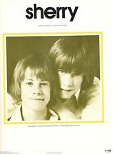 "THE KEANE BROTHERS ""SHERRY"" SHEET MUSIC-PIANO/VOCAL/GUITAR/CHORDS-1976-RARE-NEW!"