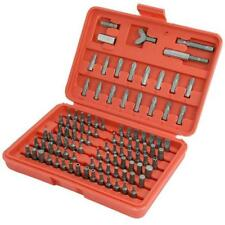 100pc Tamper Proof Security Screwdriver or Drill Bit Set - Metric & Imperial