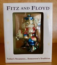 """New Fitz & Floyd """"Nutcracker Sweets"""" Glass Ornament 19/1554 Soldier Horse Candy"""