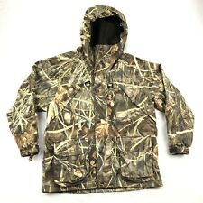 Cabela's Kids Large Advantage Max 4 Camo Full Zip Fleece Lined Hunting Jacket