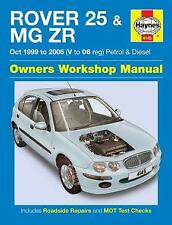 HAYNES ROVER 75 MG ZT S 06 1999 BRAND NEW MANUAL H4292