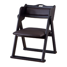 Japanese Style Tatami Ozashiki Folding Chair Tea Ceremony BC-510BK Azumaya Japan
