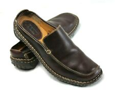 BORN Women's size 7.5  Brown Leather Slip On Slide Mule Comfort Shoes