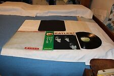 The Beatles Japanese LP with  Gatefold Cover,OBI, Original Lyric Sheet, & Origin