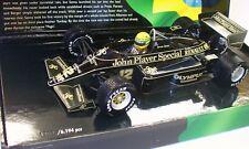 Lotus 97T Ayrton Senna 1985 Portuguese GP 1985 Minichamps 1.18 scale