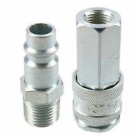 "PCL XF Series Female Coupler 1/4"" BSP Female Thread & Male Air Adaptor Fitting"