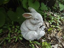 """Latex rabbit mold 3""""H x 2.25""""W plaster cement mould"""