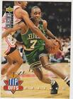 Carte Basket NBA Upper Deck 1994 Collection Tip Offs signature OR Dee Brown
